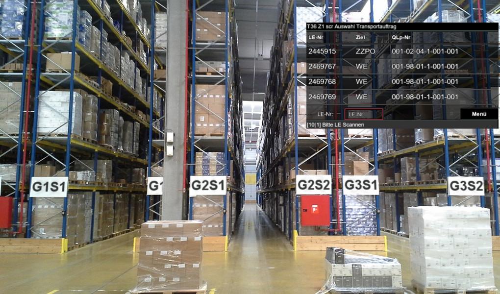 Lagerverwaltungssystem KBU-Logistik