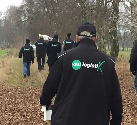 KBU-Logistik auf dem Rückweg - Lagerverwaltungssoftware