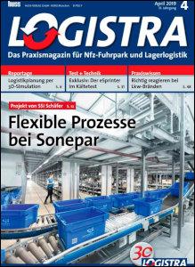 Magazincover Logistra April 2019