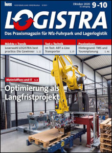 Magazincover Logistra 09-10 2020